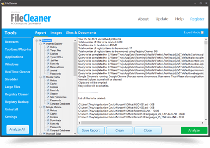 FileCleaner: Fix Your Slow PC Within Seconds